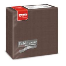 FATO AIRLAID Textilhatású Szalvéta, Csokoládé