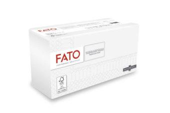 FATO SMART Szalvéta Fehér , 33 X 33 Cm, 1/8 Hajtogatású