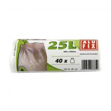 Szemeteszsák 25 L , Fehér