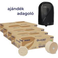 LUCART Toalettpapír ECONATURAL 900 ID + AJÁNDÉK ADAGOLÓ