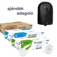 LUCART Toalettpapír Próba Csomag + AJÁNDÉK ADAGOLÓ