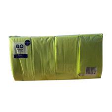 Szalvéta  DUNI, 3 Rtg., 1/8, Kiwi  (40×40 Cm, 250 Db/csomag)
