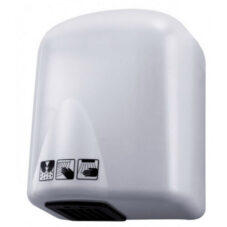 Kézszárító, ABS Műanyag, Fehér, 1650W